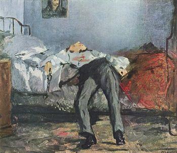 Edouard Manet suicidio